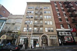 The Sheldon Hotel on Post Street, one of San Francisco's many Airbnb vacation stays. - MIKE KOOZMIN