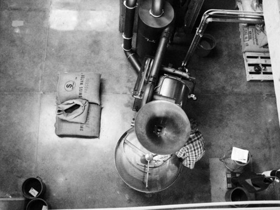 The Sightglass coffee roaster: Drink up. - CATHERINE COLE