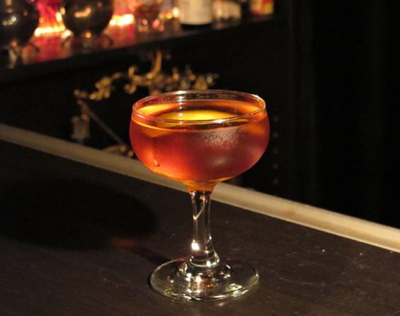 The signature drink: John Hancock - LOU BUSTAMANTE