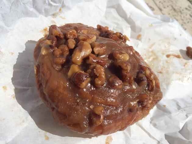 The sticky bun. - PETE KANE