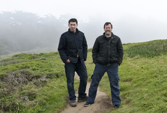 The Talking Book: Billy Gould (right), and Jared Blum