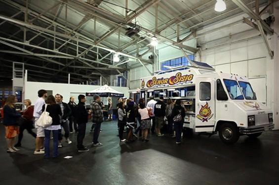 The truck made its debut last Saturday at Fort Mason Pavilion. - SENOR SISIG