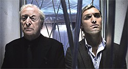SONY PICTURE CLASSICS - The two Alfies (Michael Caine and Jude Law) are terrific, but, alas, can't save a crappy script.