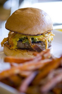 The Umami Burger in question. - JENNIFER CHONG/FLICKR