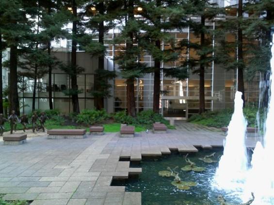 The Urban Equivalent to the Secret Garden with Redwoods. - JUAN DE ANDA/SF WEEKLY