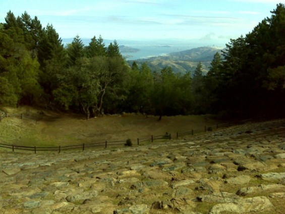 The view from the Mountain Theater on Mt. Tam: Not bad. - CRAG H VIA EVERY TRAIL