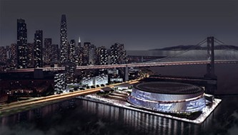 The Warriors' proposed waterfront arena inspired the nascent height-limit initiative -- but the Giants' planned development down the road would be affected, too. - SNØHETTA