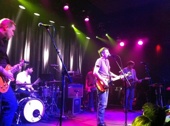 The Weakerthans at the Independent on Friday.