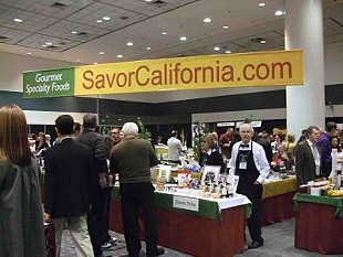 The Winter Fancy Food Show started yesterday and ends tomorrow. - T. PALMER