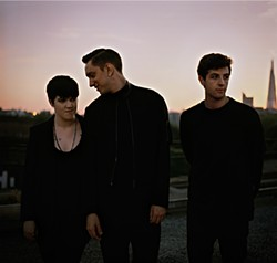 JAMES MEDINA - The xx: Romy Madley Croft, Oliver Sim, and Jamie Smith.