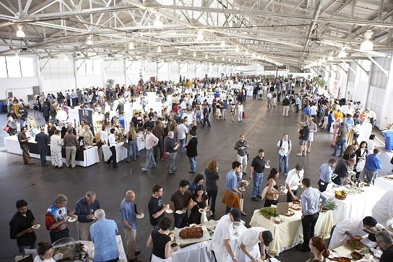 The yearly Slow Food fundraiser attracts a crush of international winemakers. - SLOW FOOD SAN FRANCISCO