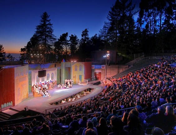 All The World S A Stage During Outdoor Theater Season