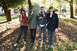 Thee Oh Sees ready their mustache rides.
