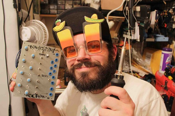 These are Dmitri SFC's actual soldering safety goggles.