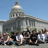 Extremely Civil Disobedience: Prop. 8 Protests Peaceful -- So Far