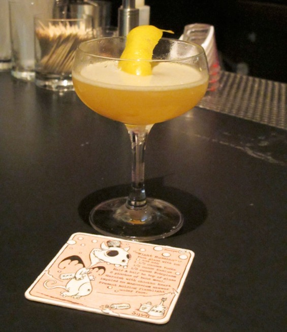 Third Rail Cocktail with collectable coaster - LOU BUSTAMANTE