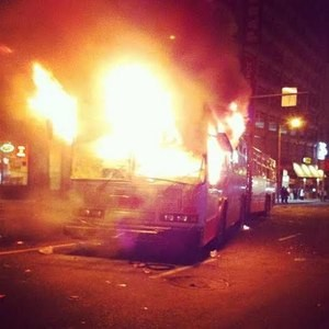 This didn't happen last night - COURTESY OF SFMTA