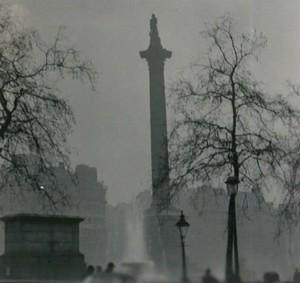 This isn't a grainy photo of Nelson's Column. It's killer smog. - N T STOBBS