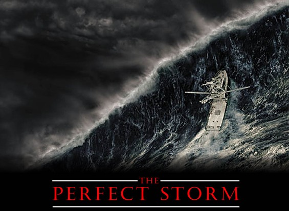 'This kind of thing just creates performance anxiety,' says Leonard the Storm. 'No one can be perfect. Not even Bill -- that's his name, you know. He made a few mistakes. Don't get me wrong; he was great, spectacular. But no storm is perfect.'