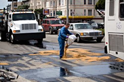 This looks like a job for ... the DPW - SF CITIZEN