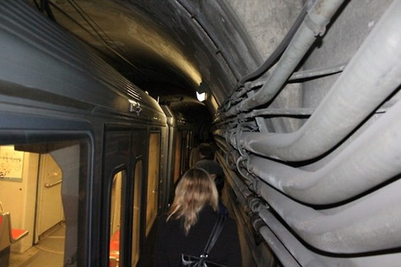 """This May mishap was caused by a train's overhead antenna -- a """"pantograph"""" -- damaging the Metro Tunnel's wire - WILLIAM POOR"""
