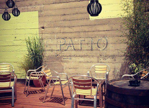 This patio is basically begging for brunch. - FACEBOOK/VIRGIL'S