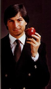 This photo of Steve Jobs was taken a tad before he purportedly knew the iPhone 4 antenna is janky