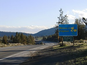This sign and everything that goes with it annoys the hell out of the people in Siskiyou County - AAROADS.COM