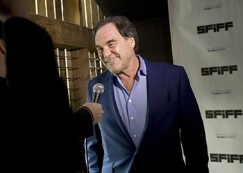 Oliver Stone Gets Political -- and Light-Hearted -- During Film Festival Interview