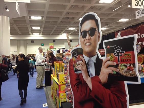 This year, it's all about Gangnam Ramen. - TAMARA PALMER