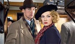 JAAP VRENEGOOR - Thom Hoffman and Carice van Houten in a scene from Black Book.