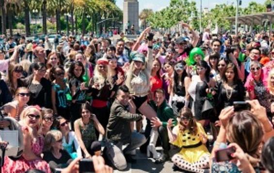 Throngs of GaGas flocked to Pride last June