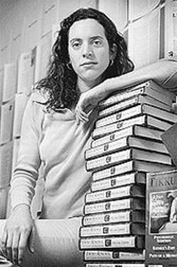 PAOLO  VESCIA - Tikkun Managing Editor Deborah Kory.