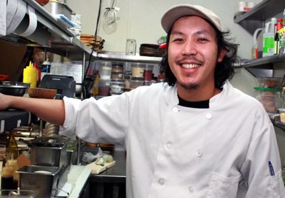 Tim LOO-yim of The Attic. - CAROLYN JUNG/FOOD GAL