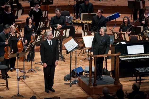 Tim Robbins, Michael Tilson Thomas, and the San Francisco Symphony - STEFAN COHEN