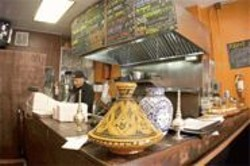 JAMES  SANDERS - Tiny and Tasty: Tajine has room only for tables, but its flavor is huge.