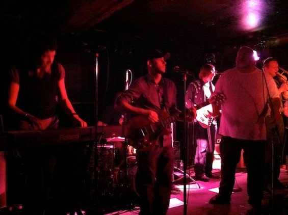 Titan Ups at Cafe Du Nord last night. Crappy photos by Ian.