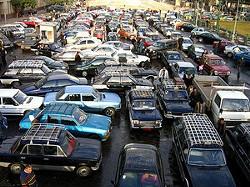 Today's commute is kinda like Cairo