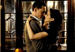 Tom Hiddleston and Rachel Weisz, happy they're in this Deep Blue Sea and not the shark one.