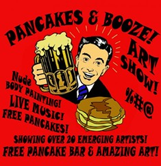 PANCAKES AND BOOZE/FACEBOOK