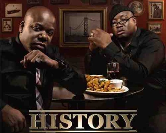 Too $hort and E-40: History professors.