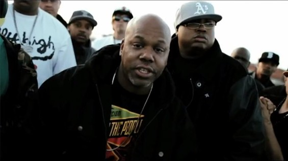 "Too $hort and E-40 in ""Dump Truck"" video."