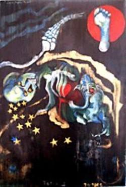 "J. HOUSTON EMERSON - Totem II at ""Haunted."""