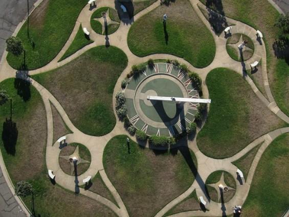 Aerial picture of this century-old neighborhood landmark. - FLICKR/ HOBBIESTOOMANY