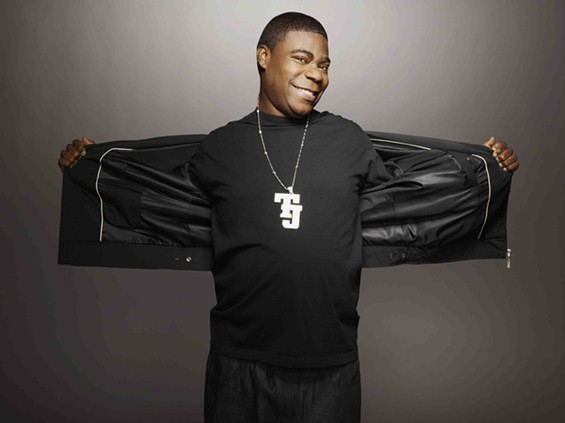 Tracy Morgan (as 30 Rock's Tracy Jordan). - ART STREIBER