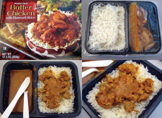 Trader Joes Taste Test Butter Chicken With Basmati Rice Sfoodie