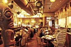 ANTHONY  PIDGEON - Trading Space: Vic's Outrigger Room, in - timeless Fantasy Island style.