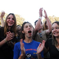 M. Ward and Built To Spill: Treasure Island Music Festival Pics Treasure Island fans in their natural environment By Paul Quitoriano