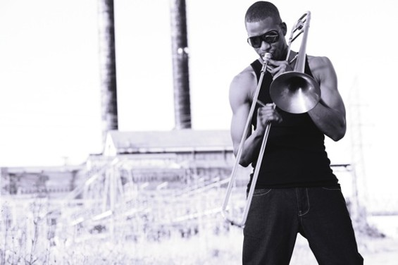 Trombone Shorty plays Friday and Saturday at the Fillmore.