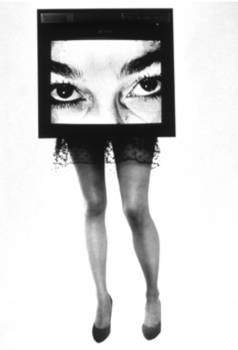 TV Legs, from Phantom Limb Series, 1985. - LYNN HERSHMAN LEESON